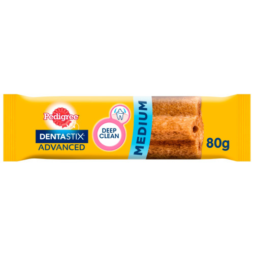 Pedigree Dentastix Advanced Dental Dog Treat Medium Dog 10 - 25kg - 1 Chew