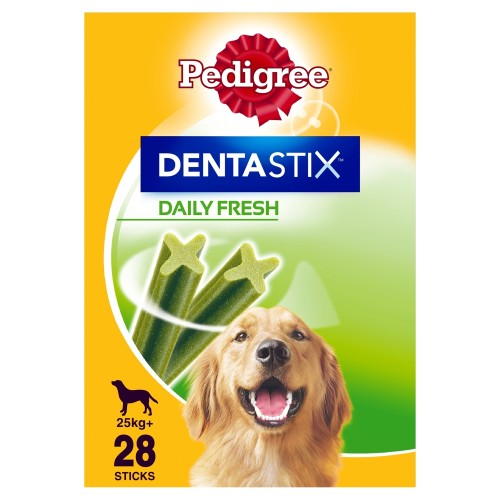 Pedigree Dentastix Fresh Dog Treats Large Dog x 28 Sticks