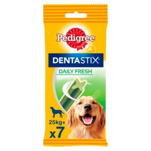 Pedigree Dentastix Fresh Dog Treats Large Dog x 7 Sticks