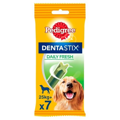 Pedigree Dentastix Fresh Dog Treats Large Dog x 7 Sticks
