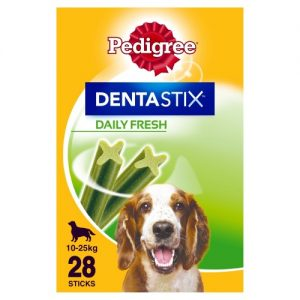 Pedigree Dentastix Fresh Dog Treats Medium Dog x 28 Sticks