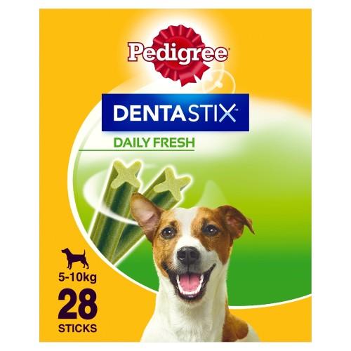 Pedigree Dentastix Fresh Dog Treats Small Dog x 28 Sticks