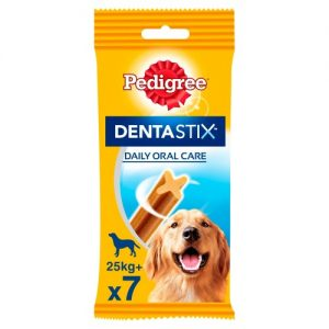 Pedigree Dentastix Large Adult Dog Treats 7 Stick