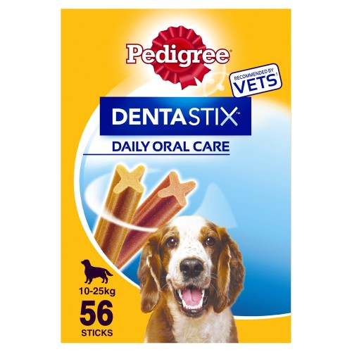 Pedigree Dentastix Medium Dog Treats 105 Stick SAVER PACK