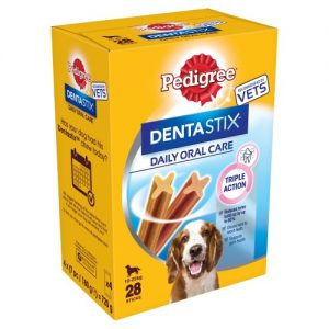 Pedigree Dentastix Medium Dog Treats 28 Stick