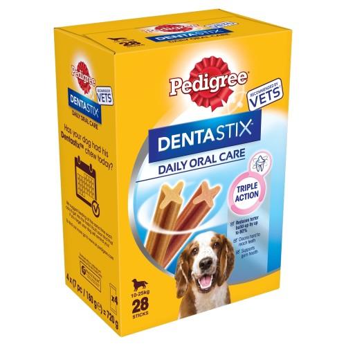 Pedigree Dentastix Medium Dog Treats 28 Stick