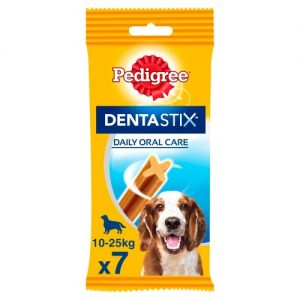 Pedigree Dentastix Medium Dog Treats 7 Stick