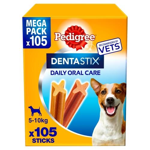 Pedigree Dentastix Small Dog Treats 105 Stick SAVER PACK