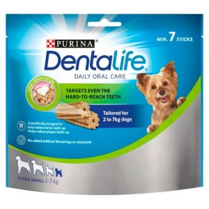 Purina Dentalife Extra Small Dog Chews 7 Stick