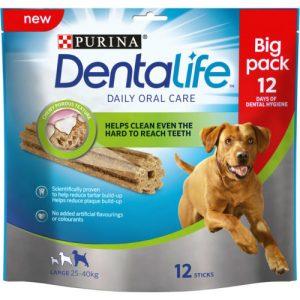 Purina Dentalife Large Dog Chews 108 Stick SAVER PACK