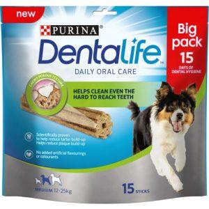 Purina Dentalife Medium Dog Chews 15 Stick