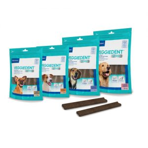 Virbac Veggie Dent Dental Dog Chews Extra Small
