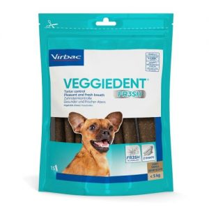Virbac Veggie Dent Dental Dog Chews Extra Small Dog x 60 Stick SAVER PACK