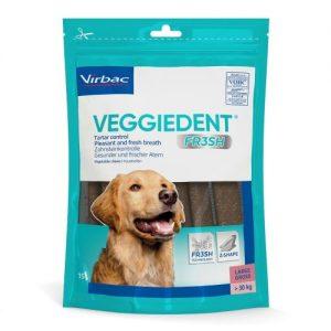 Virbac Veggie Dent Dental Dog Chews Large Dog x 60 Stick SAVER PACK