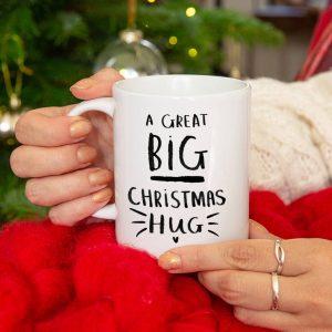 'A Great Big Christmas Hug' Mug