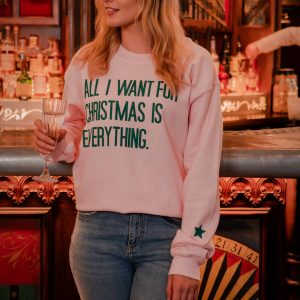 'All I Want For Christmas Is Everything' Jumper