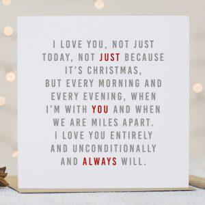 'Always' Christmas Card