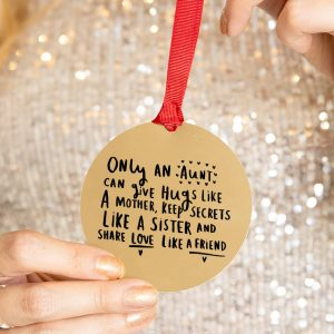 'An Aunt Is' Christmas Decoration