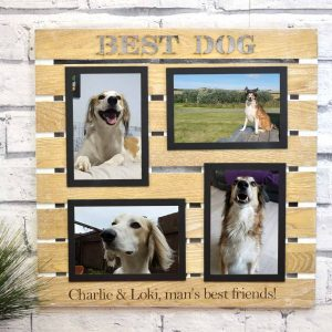 Best Dog Multi Aperture Photo Frame