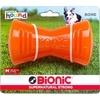 Bionic Bone Dog Toy - Orange - Medium