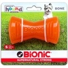 Bionic Bone Dog Toy - Orange - Small