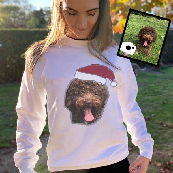 Dog Photo Christmas Jumper
