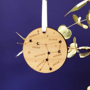 Family Constellation Christmas Tree Decoration