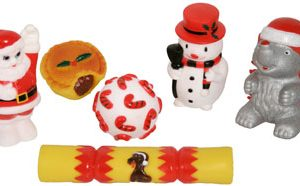 Large Vinyl Christmas Dog Toys
