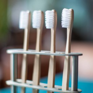 'Months' Year's Supply Bamboo Toothbrushes
