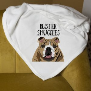 Personalised Cosy Blanket Gift For Dogs