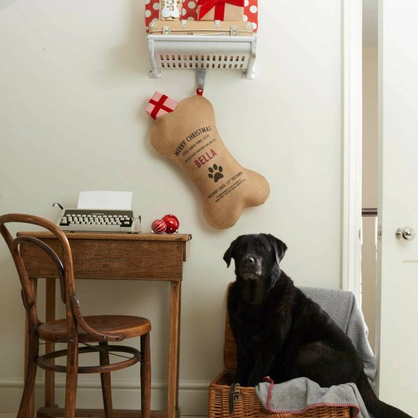 Personalised Dog Christmas Stocking