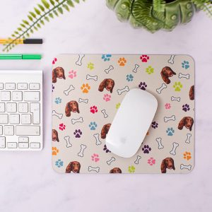 Personalised Dog Photo Mouse Mat