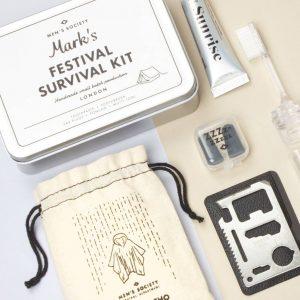 Personalised Music Festival Survival Kit