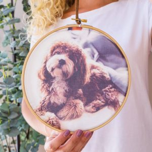 Personalised My Dog Photo Hoop