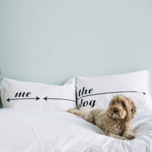 Personalised Pillowcase Set For Dog Lovers