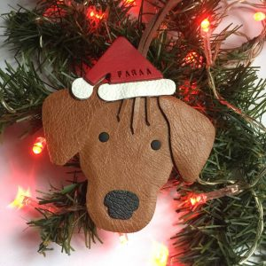 Personalised Rhodesian Ridgeback Ornament