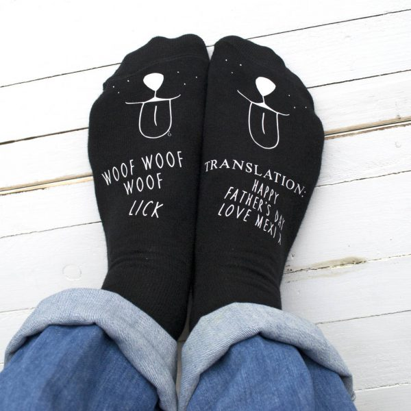 Personalised Translation Socks From The Dog