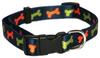 Wag 'N' Walk Fashion Dog Collar - Bone - 10-14 x 0.5 inch