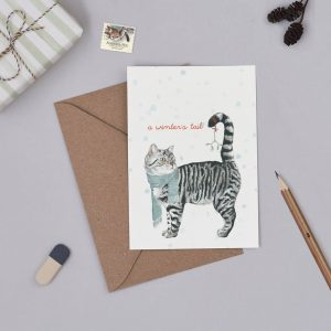 'A Winter's Tail' Christmas Card