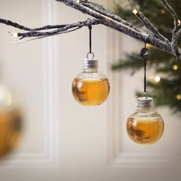 Whisky Christmas Bauble