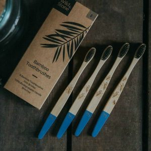 Adult Bamboo Toothbrush Pack