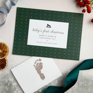 Baby's First Christmas Footprint Kit