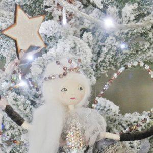Personalised Christmas Fairy + Secret Message Locket