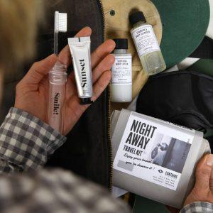 Night Away Travel Personalised Letterbox Kit