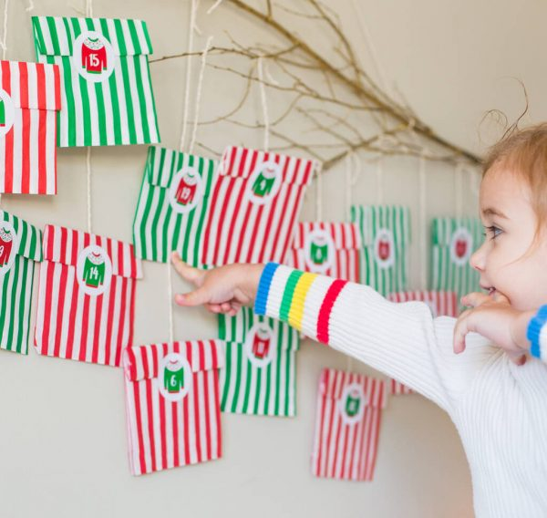 Christmas Jumper Advent Stickers And Bags