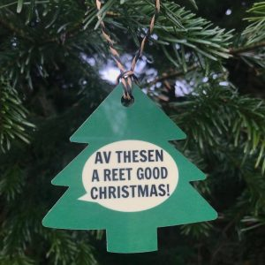 Av Thesen A Reet Good Christmas Decoration