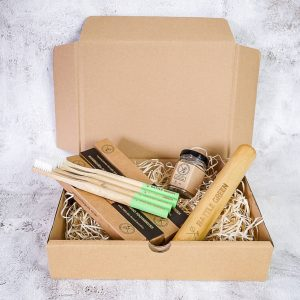 Bamboo Toothbrushes For A Year Gift Set