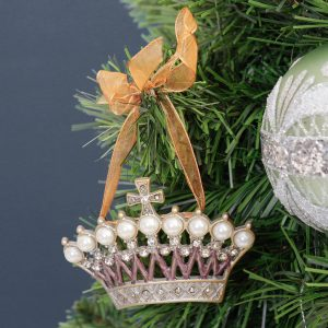 Princess Crown Hanging Christmas Tree Decoration
